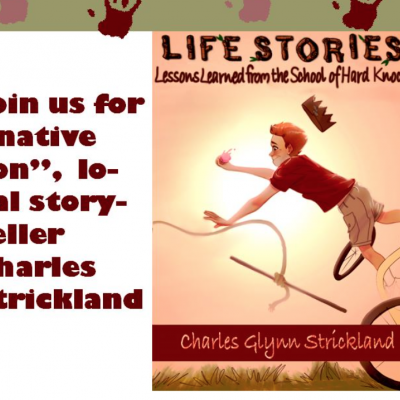 Charles Strickland Book Reading
